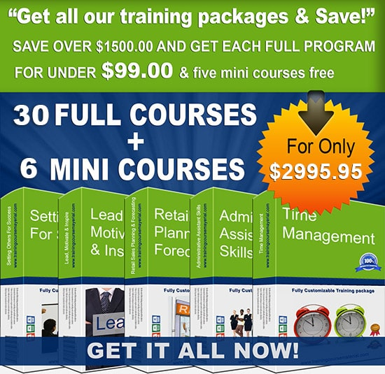 all courseware packages