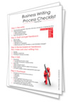 business writing process checklist- courseware