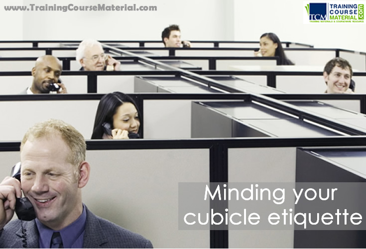 cubicle and partition etiquette