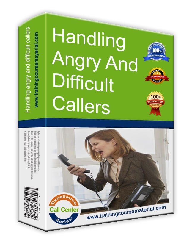 Handling angry and difficult callers