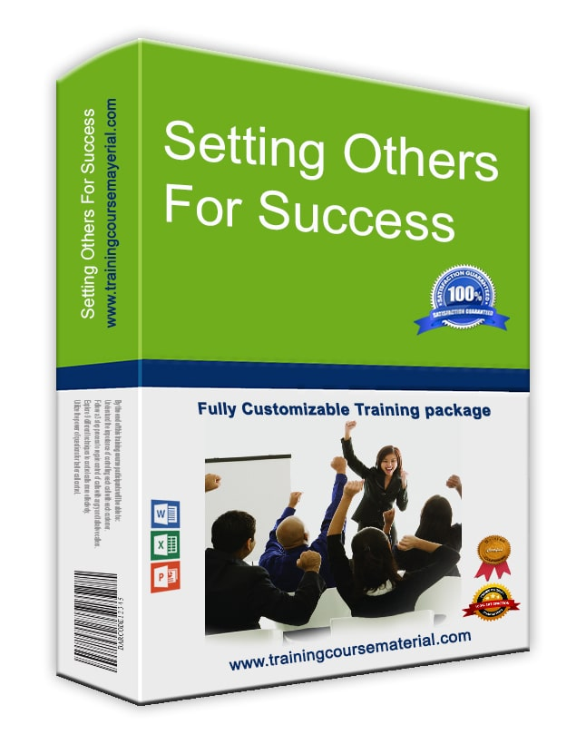 Setting Others Up For Success!