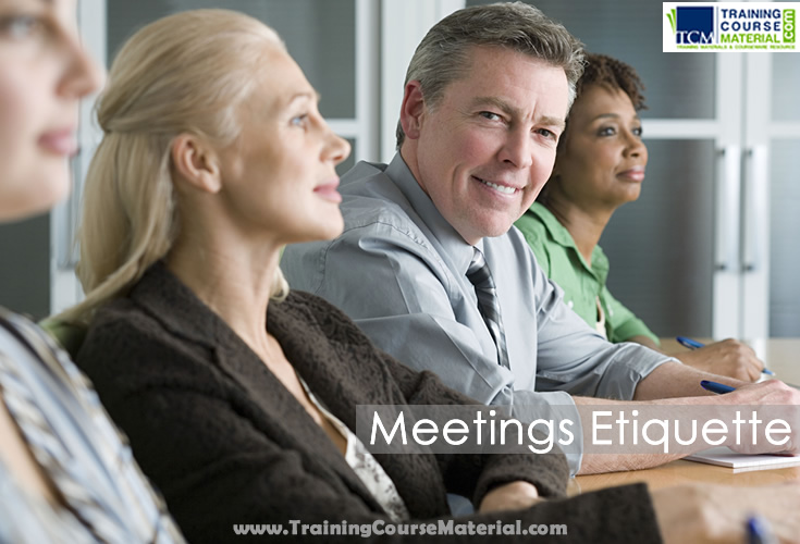 meetings etiquette