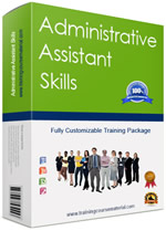 Administrative assistant skills training course material package