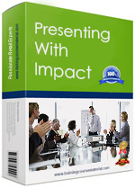 Presentation skills training program for presenting with impact