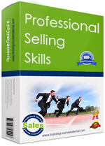 Complete professional sales skills training package including slide, trainer guide, workbook, activities and exercises  two day program