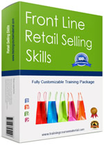 Retail selling skills training course materials