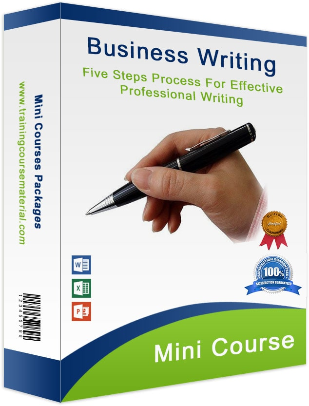 Business writing Skills training course material