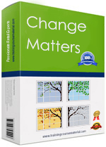 Change management training course material package for dealing with personal change