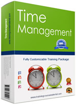 time management training materials