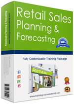 Retail sales planning and forecasting training course material package